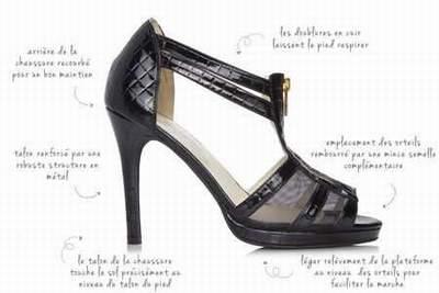 chaussures avec scratch